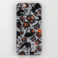 Halloween Cats  iPhone Skin