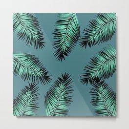 laves palm Metal Print
