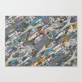 Battlestar Canvas Print