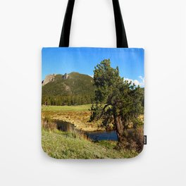 Along Fall River Tote Bag