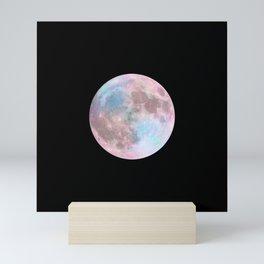 Iridescent Dark Moon Mini Art Print