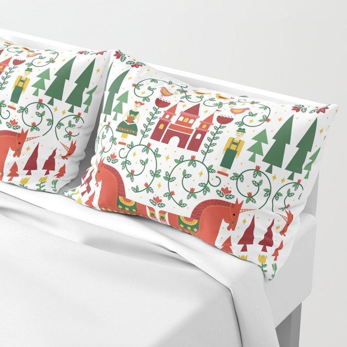 Scandinavian Inspired Fairytale Pillow Sham