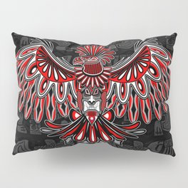 Eagle Tattoo Style Haida Art Pillow Sham