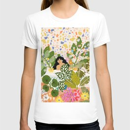 Bathing with Plants T-shirt
