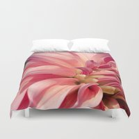 dahlia Duvet Covers featuring Dahlia  by A Wandering Soul