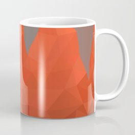 Torres del Paine National Park Low Poly Art Coffee Mug