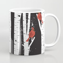 Northern Cardinal Birds Coffee Mug