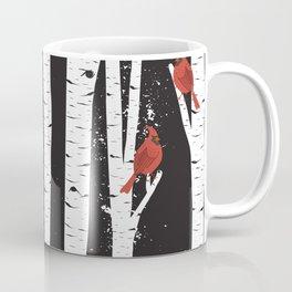 Northern Cardinal Birds Coffee Mug