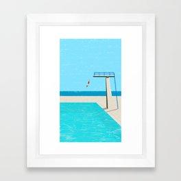 pool-4 Framed Art Print