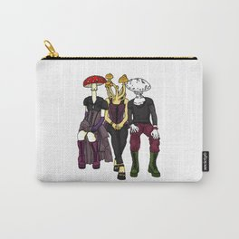 Mushroom Goth Gang Carry-All Pouch