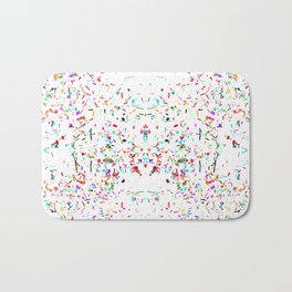 JCrafthouse Party All The Time - White Bath Mat