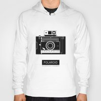 polaroid Hoodies featuring POLAROID by vetpan
