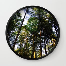 Closer To The Sky Photography Wall Clock