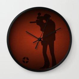 Sniper Wall Clock