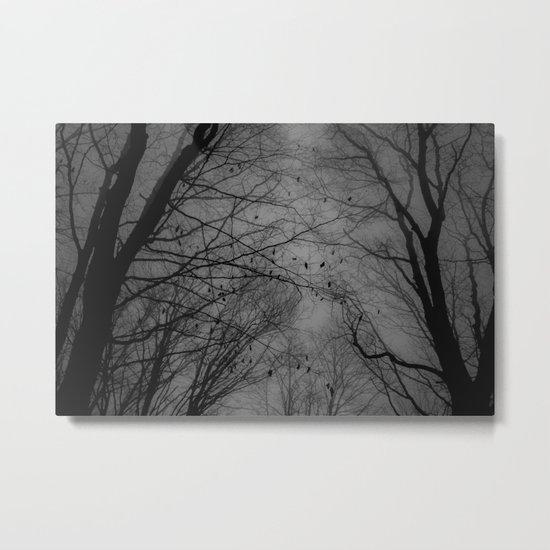Tree of black Metal Print