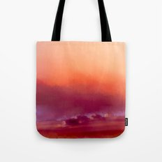 Winter-sun, in Iceland, Seltjarnarnes. Tote Bag