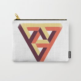 Double Penrose Triangle Carry-All Pouch