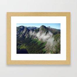 Misty Fjords Framed Art Print
