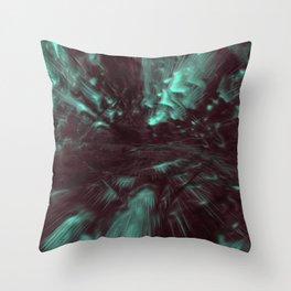Stereoscopic Swim Throw Pillow