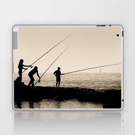 Three Fishermen Laptop & iPad Skin