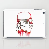 storm trooper iPad Cases featuring Storm Trooper Print by Jon Hernandez