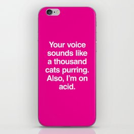 A Thousand Cats iPhone Skin