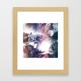 Nibuleuse Framed Art Print