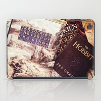 tolkien iPad Cases featuring Tolkien Books by Apples and Spindles