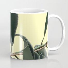 ficus elastica the nature series Coffee Mug