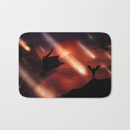 The Dragons At The End Of The Universe by GEN Z Bath Mat