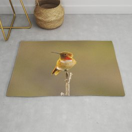 Heavenly Hummingbird by Reay of Light  Rug