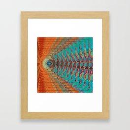Color Vibrations Framed Art Print