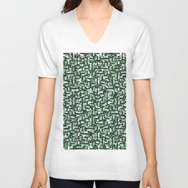 shapes and leaves Unisex V-Neck