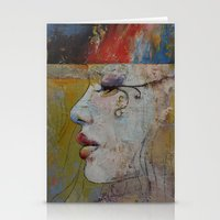queen Stationery Cards featuring Queen by Michael Creese