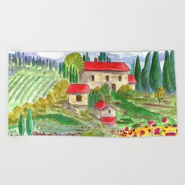 Tuscan Beach Towel