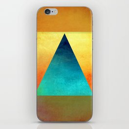 Triangle Composition XIII iPhone Skin