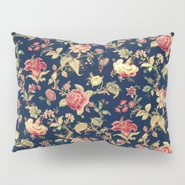 Shabby Floral Print Pillow Sham