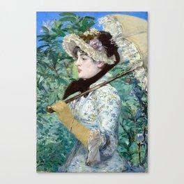 Jeanne (Spring) Canvas Print