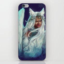 Snow Goddess iPhone Skin