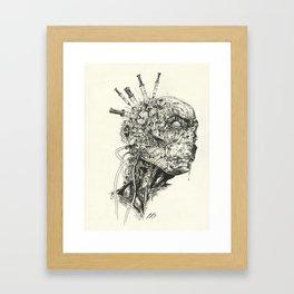 Growing Insanity Framed Art Print