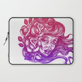 cheeks and roses Laptop Sleeve