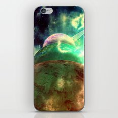 Meanwhile, Somewhere in The Universe... iPhone & iPod Skin