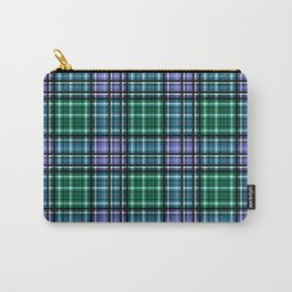 Checkered background. Carry-All Pouch