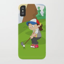 Non Olympic Sports: Golf iPhone Case