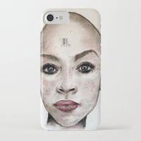 avatar iPhone & iPod Cases featuring Avatar by Courtney James