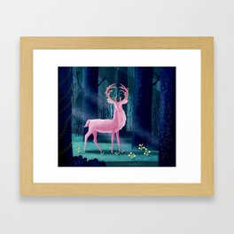 King Of The Enchanted Forest Framed Art Print