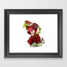 Red Obsession Framed Art Print