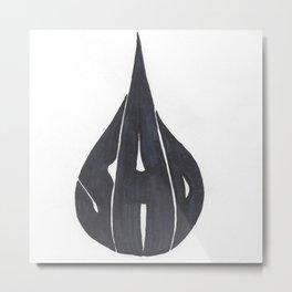 Sad Metal Print