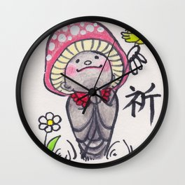 KINOKOJIZO 3 Wall Clock