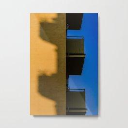 Balconies, Stockholm Metal Print